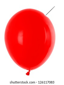 balloon and needle