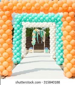 Balloon Arch Images Stock Photos Vectors Shutterstock