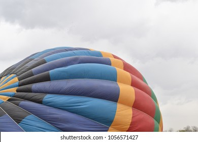 balloon in the process of inflation
