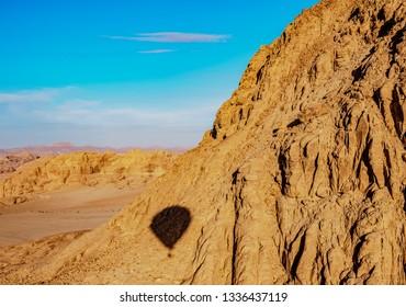 Balloon at Wadi Rum, Aqaba Governorate, Jordan