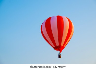 Balloons in International Balloon Fiesta, Singha Park, Chiangrai, Thailand