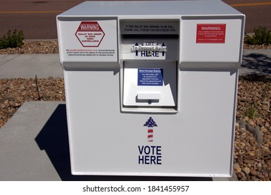 Ballot Drop Box for Election - All Mail-In Voting