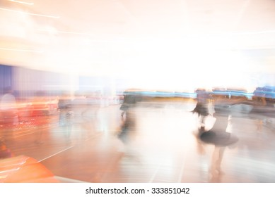 Ballroom dancing ,blur motion.
