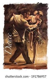 Ballroom dancing Torn Edges