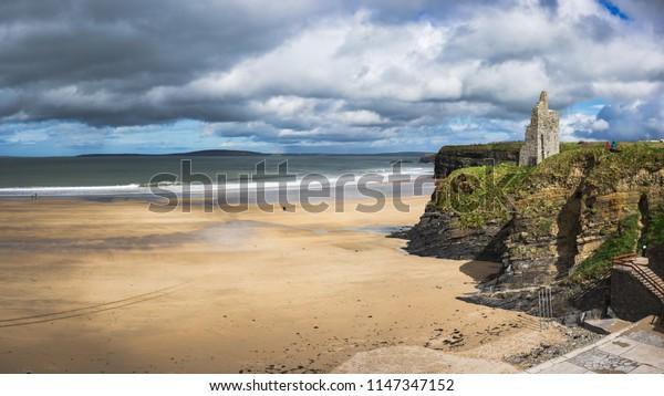 Ballybunion Beach County Kerry Ireland.