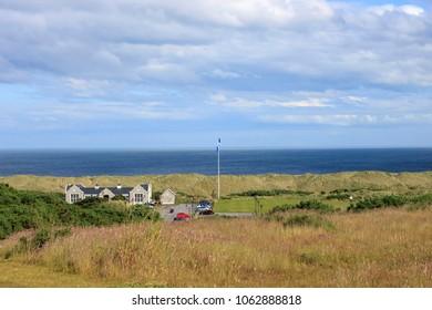 Balmedie, Aberdeenshire / Scotland, United Kingdom - July 8th 2016: Donald Trump's Golf Links