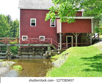 Balmoral Grist Mill in Tatamagouche, Nova Scotia, Canada