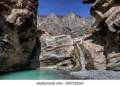 Balochistan Waterfall Tubko Chashma Near Kanrach