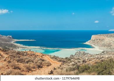 Balos beach. Chania, Crete, Greece.