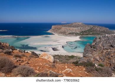 Balos beach lagoon