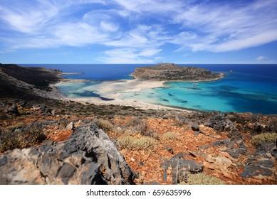 Balos lagoon - Crete, Greece