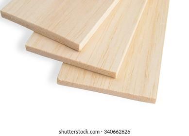 Balsa plank