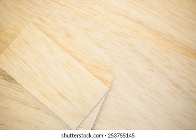 balsa wood panel veneer close up