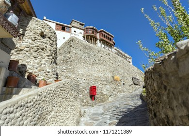 Balti ( Baltit ) Fort - an ancient fort in the Hunza valley in Gilgit, Baltistan, Pakistan