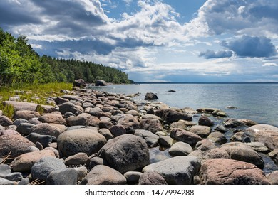 Baltic coast; Lahemaa National Park; Estonia