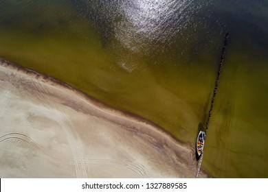 Baltic sea coast at Jurmalciems, Latvia.