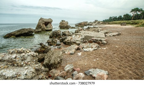 Baltic Sea coast near Liepaja