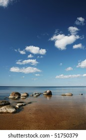 Baltic sea coast near the Riga (Latvia)