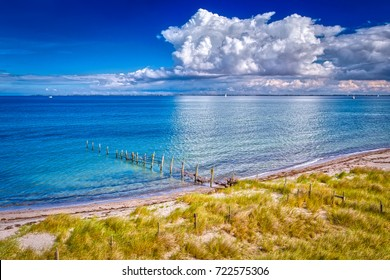Baltic Sea in Germany near Heiligenhafen