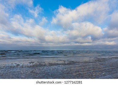 Baltic sea Latvia. Jurmala
