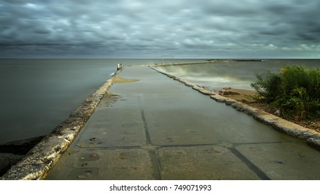 Baltic Sea in long exposure