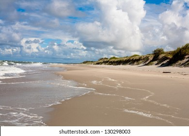 Baltic sea near Curonian Spit