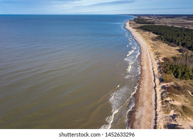 Baltic sea in nice autumn day.