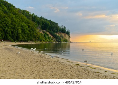 Baltic sea at sunrise
