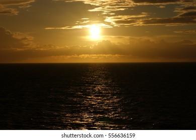 Baltic sunset - Shutterstock ID 556636159