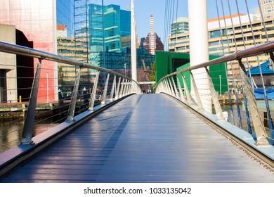 Baltimore Bridge and City View