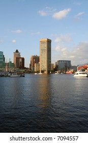 The Baltimore Inner Harbor