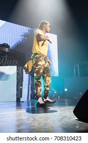 BALTIMORE, MARYLAND - AUGUST 21, 2017: On August 21, 2017, THE FUTURE HNDRXX TOUR visits the Royal Farms Arena in Baltimore, MD.