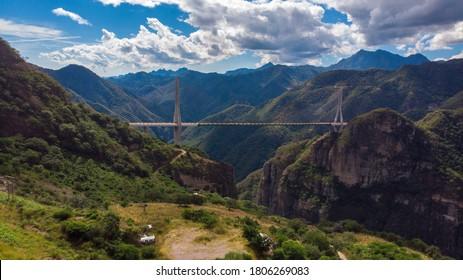 Baluarte bridge in Durango Mexico