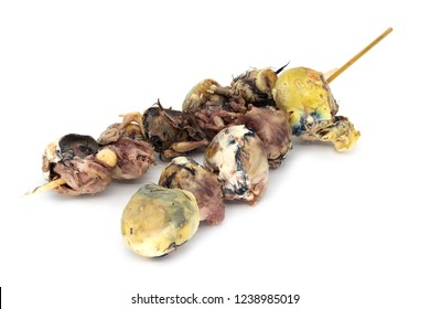 Balut, fertilized birg egg is food of east asian culture