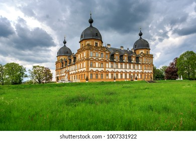 BAMBERG, GERMANY - CIRCA MAY, 2017:  Schloss Seehof, a palace in Memmelsdorf, Bamberg, Germany