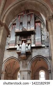 Bamberg, Germany- July 11.2011 :Interior of Bamberg Cathedral, Bamberg, Germany.
