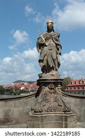 Bamberg, Germany- July 11.2011 :Views of the central historical part of the city of Bamberg, Germany.