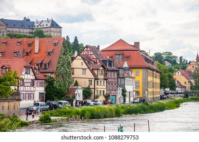 BAMBERG, GERMANY , MAY 30, 2015 : beautiful view of Bamberg the Unesco heritage city at may 28, 2015, Germany