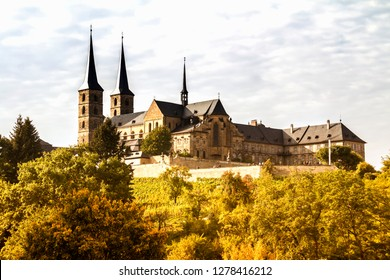 Bamberg, Oct 3, 2015: The Bamberg Cathedral of St. Peter and St. Georg, Bamberg, Upper Franconia, Bavaria, Germany