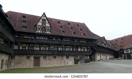 Bamberg/Germany- 2015: Buildings in Bamberg, Germany