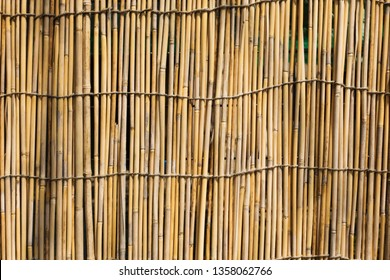 """Sudare"" are bamboo blinds constructed by knitting together strips of bamboo string. We usually hang them outside of the window to block the sunlight."