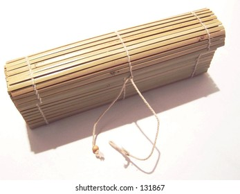 bamboo box with clasp