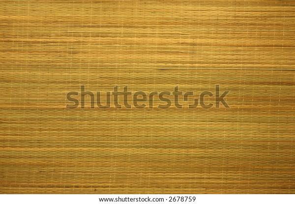 Bamboo Curtain Background Texture, Horizontal