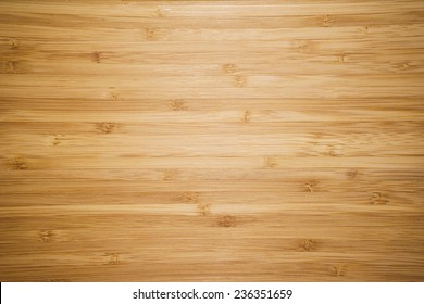 Bamboo Cutting Board Texture, Wooden Background