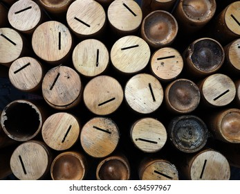 Bamboo cylinders