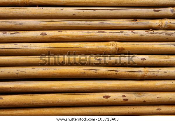 Bamboo Detail Doorway Japanese Tea Garden Stock Photo (Edit