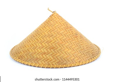 3f8bd40c3a4 Bamboo hat Vietnam Isolate on white background