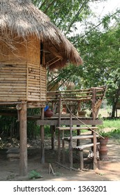 Bamboo House in Thailand