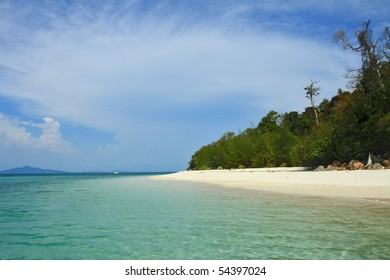 Bamboo Island is one other island in the Andaman Sea bar.