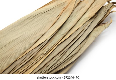 bamboo leaf for wrapping Chinese rice dumplings